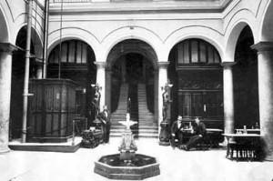 HOTEL REGINA EN LOS AÑOS 20