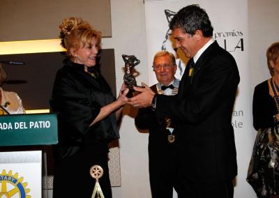 Entrega de premios - Premios Huella Rotary Club Málaga